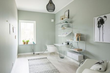 ameublement chambre - villa-vallmo par Thomas Sandell - Skaraborg, Suède