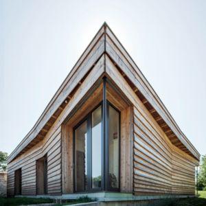 angle nord-ouest - Maison P(c)ap(l)ill(ss)on par Guillaume Ramillien architecture - Yzeure, France - Photo Eric Pouyet