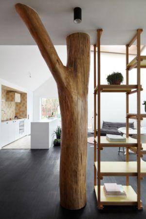 arbre poutre - Huis voor Patrick par LOW Architecten - Belgique