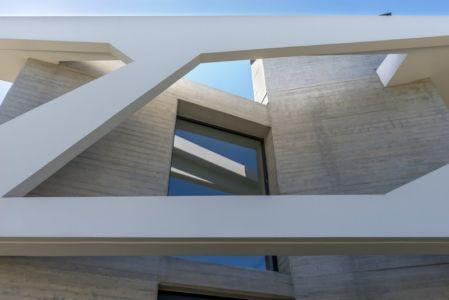 architecture béton - Paradox house par Klab architecture - Athènes, Grèce