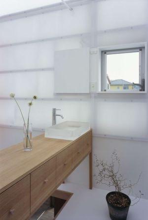 armoire salle de bains - House-Yamasaki par Tato Architects-You Shimada - Hyogo,Japon