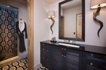 lavabo salle de bains - Vail-Ski-Haus par Read Design Group - Vail, USA