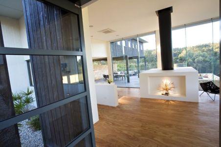 arrière cheminée - House 14 par Dane Richardson Design - Eagle Bay, Australie