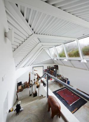 atelier - Maison et atelier d'artiste par Miba architects - Gijón, Espagne