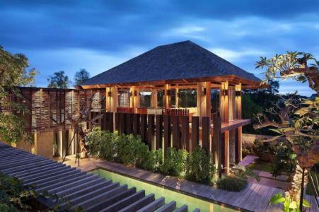 bâtiment de nuit - Villa Pecatu par Wahana Cipta Selaras - Pecatu, Indonésie