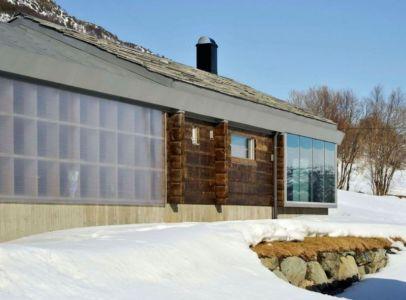 baie vitrée - Cozy-Wooden-Cottage par JVA - Oppdal, Norvège