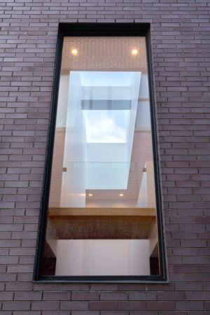 baie vitrée fixe étage - Résidence Waverly par MU Architecture - Montréal, Canada