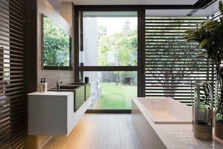 baignoire - House Sar par Nico van der Meulen Architects - Johannesbourg, Afrique du Sud