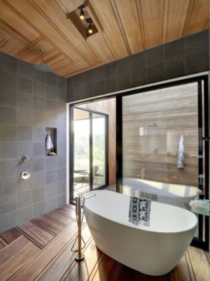 baignoire - Mothersill par Bates Masi Architects - Water Mill, Usa