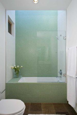 baignoire douche - HudsonPanos Residence par Swatt & Miers Architects - Healdsburg, Usa
