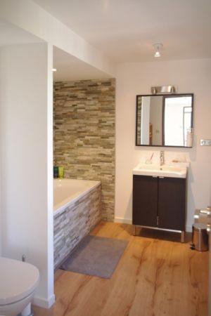 baignoire salle-de-bains - Maison l'Estelle par François Primault architecte - Moirax, France