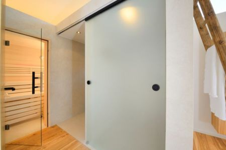 baignoire salle de bains - alpine-residence par Bau-Fritz - Munich, Allemagne