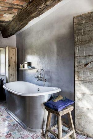 baignoire salle de bains - mediterranean-residence par Elodie Sire - Toscane, Italie