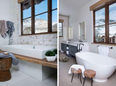 baignoires salle de bains - Vail-Ski-Haus par Read Design Group - Vail, USA