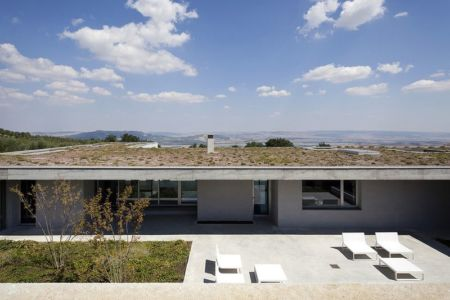 bains de soleil sur terrasse - Residenza Privata par Osa Architettura - Basilicata, Italie