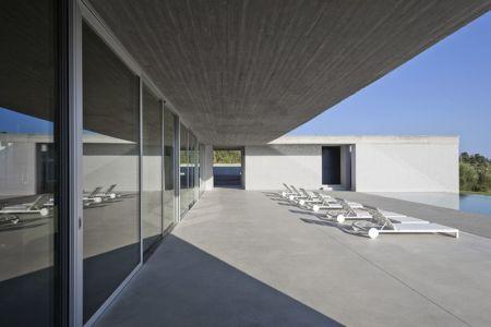 bain de soleil terrasse - Residenza Privata par Osa Architettura - Basilicata, Italie