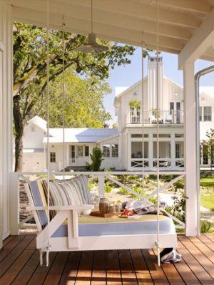 balancelle - Transitional Farmhouse Design par Total Design - Calistoga, Californie, Usa