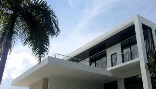 balcon étage - Hucker Residence par Strang - Miami, USA
