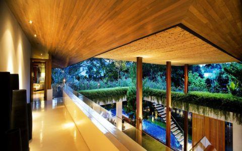 balcon 2e étage - Tangga House par Guz Architects - Bukit Timah, Singapour