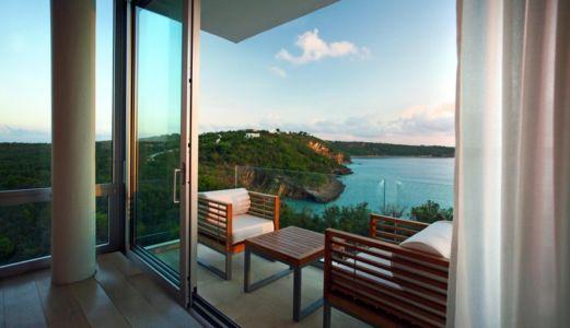 balcon - Ani Villas par Lee H. Skolnick Architecture - Anguilla