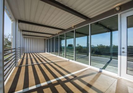 balcon - PV14 House par M Gooden Design - Dallas, Usa