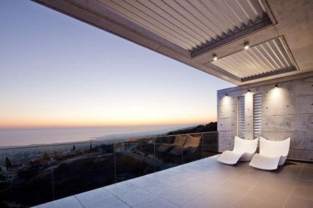 balcon - Prodromos and Desi Residence par VARDAstudio - Paphos, Chypre