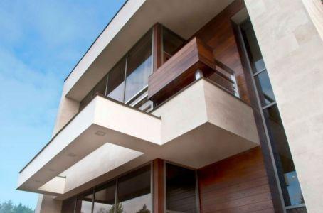 balcon - S-House par Fourth Dimension - Moscou, Russie