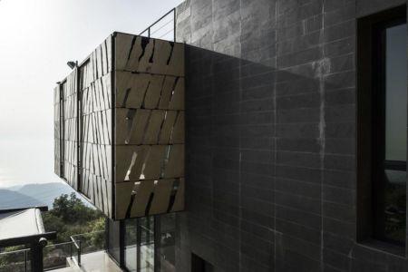 balcon - Tahan Villa par BLANKPAGE Architects - Kfour, Liban