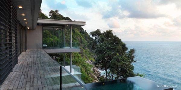 balcon - Villa Kamala-Phuket, Thaïlande