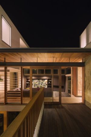 balcon étage - maison exclusive par CplusC - Waverley, Australie