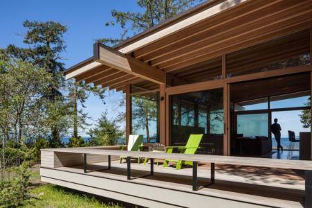 terrasse bois - bunny-lane par Heliotrope-Architects - Washington, USA