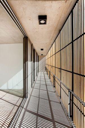 balcon et persiennes brise soleil - Casa Pedro par VDV ARQ - Buenos Aires, Argentine