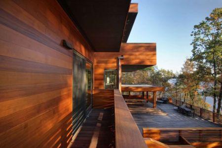 balcon et terrasse - RiverBanks par Foz Design - Saugerties, Usa