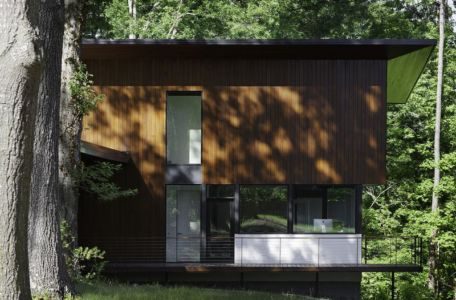 balcon - Clark Court par In Situ studio - Raleigh, USA
