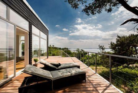 balcon - maison exclusive par Skanlux - Danemark
