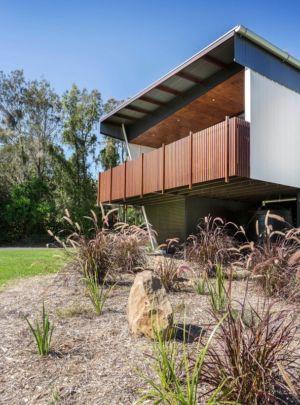 balcon porte à faux - Northern Rivers Beach House par Refresh Architecture - South Golden Beach, Australie