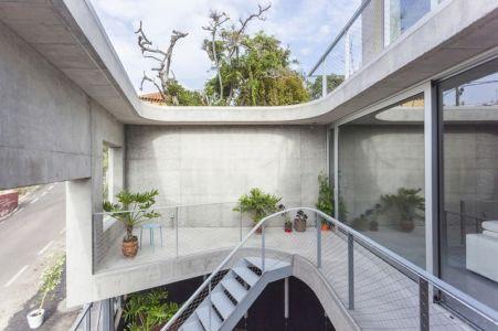 balcon côté rue - g-house par Esau Acosta - El Sauzal, Espagne
