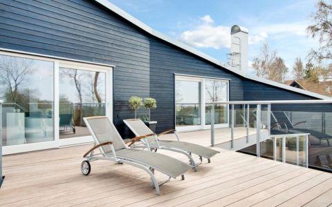 balcon terrasse - villa Skipas par Tengbom - Halmstad, Suède