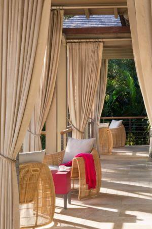 balcon - villa par Krutz Homes - Floride, USA