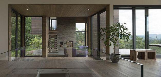 balustrade vitrée - La-chevre par Atelier Pierre Thibault - Québec, Canada