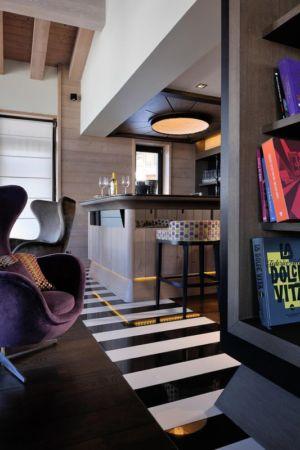 bar - Luxury Chalet par Jean-Marc et Anne-Sophie Mouchet - Courchevel, France