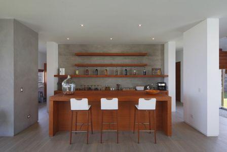 bar - Maison Mar-de-Luz par Oscar Gonzalez Moix - Pérou