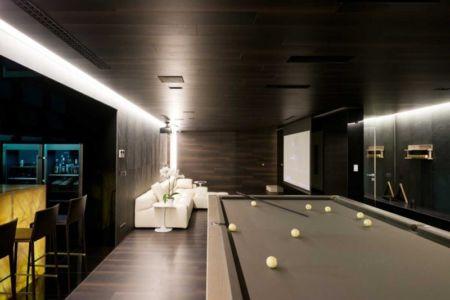 bar, billard et home cinema - Villa Agalarov par SL Project - près de Moscou, Russie