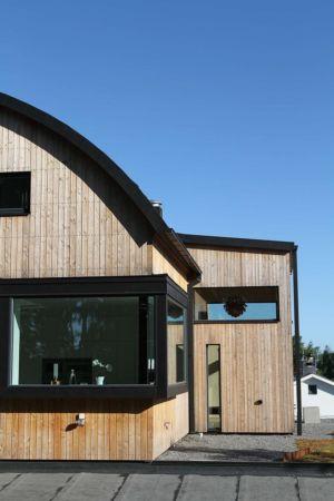 bardage - Villa E par Stringdahl Design - Suède