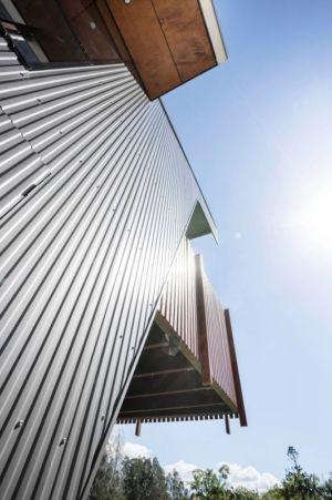 bardage acier - Northern Rivers Beach House par Refresh Architecture - South Golden Beach, Australie