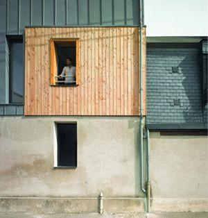 bardage bois - Agrandissement surévélavation par atelier 100 architecture - Tours, France