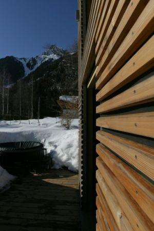 bardage bois - Chalet Piolet par Chevallier Architectes - Chamonix, France