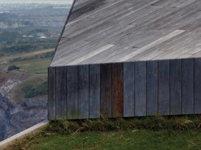 bardage bois - Clifftop House Maui par Dekleva Gregoric Arhitekti - Maui, Hawaï