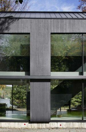 bardage bois - Private Residence St-Sauveur par  Saucier + Perrotte architectes -  Saint-Sauveur, Canada