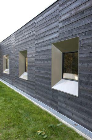 bardage bois - War house par A+B architectes - Montmorency, France